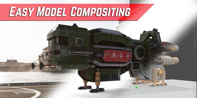 Easy Character Modeling Blender : Easy model compositing addon blender marketeasy