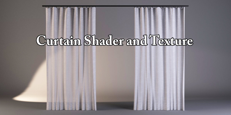 Curtain Shader And Textures Blender Market