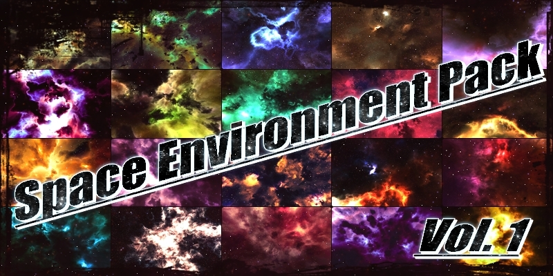 Space Environment Pack - Vol  1