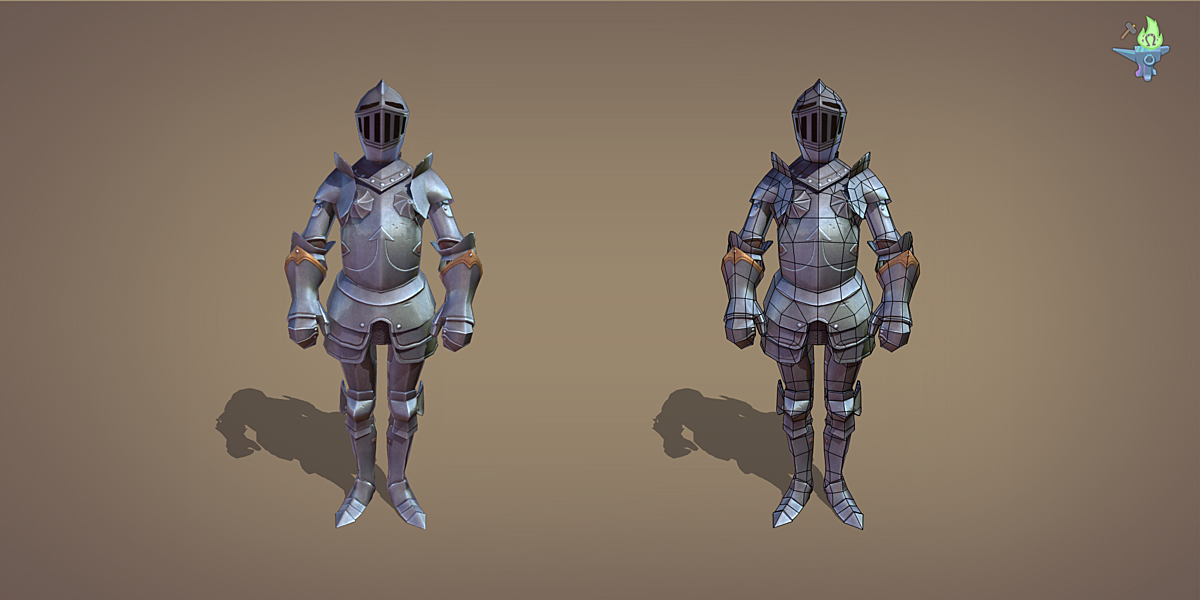 Ornamental Plate Armor