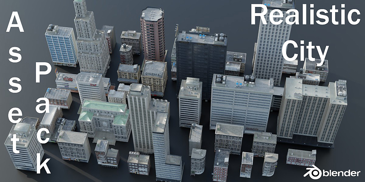 Realistic City Asset Pack