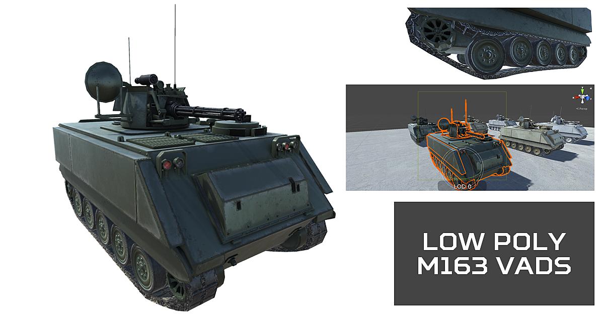 M163 VADS - Blender Market