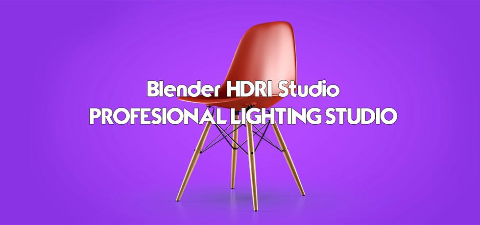 Blender HDRI Studio