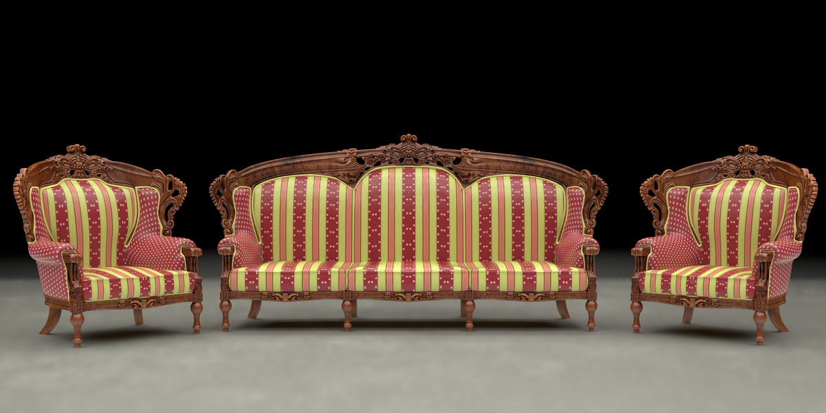 Superb Ethnic Carved Wood Sofa And Armchair   Blender MarketEthnic Carved Wood Sofa  And Armchair   Blender Market