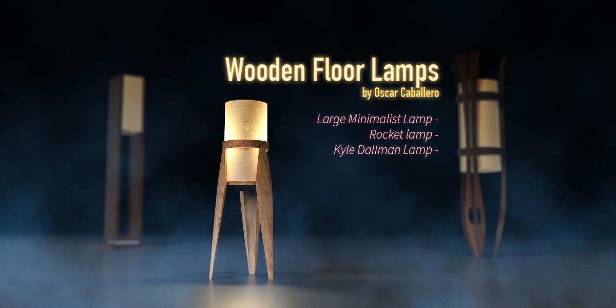Wooden floor lamps blender marketwooden floor lamps blender market mozeypictures Image collections
