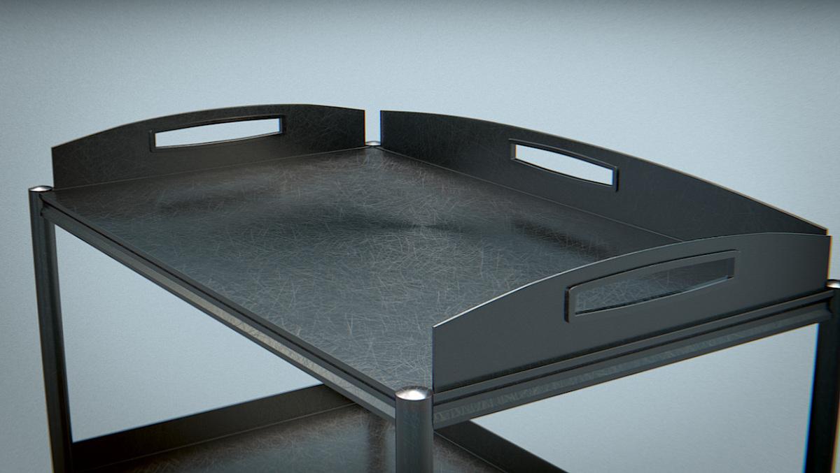 Trolley Stainless Steel - Blender MarketTrolley Stainless Steel ...