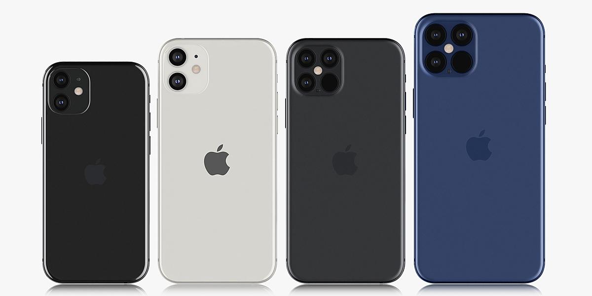 Apple iPhone 12 mini & 12 & 12 pro &12 pro MAX - Blender ...