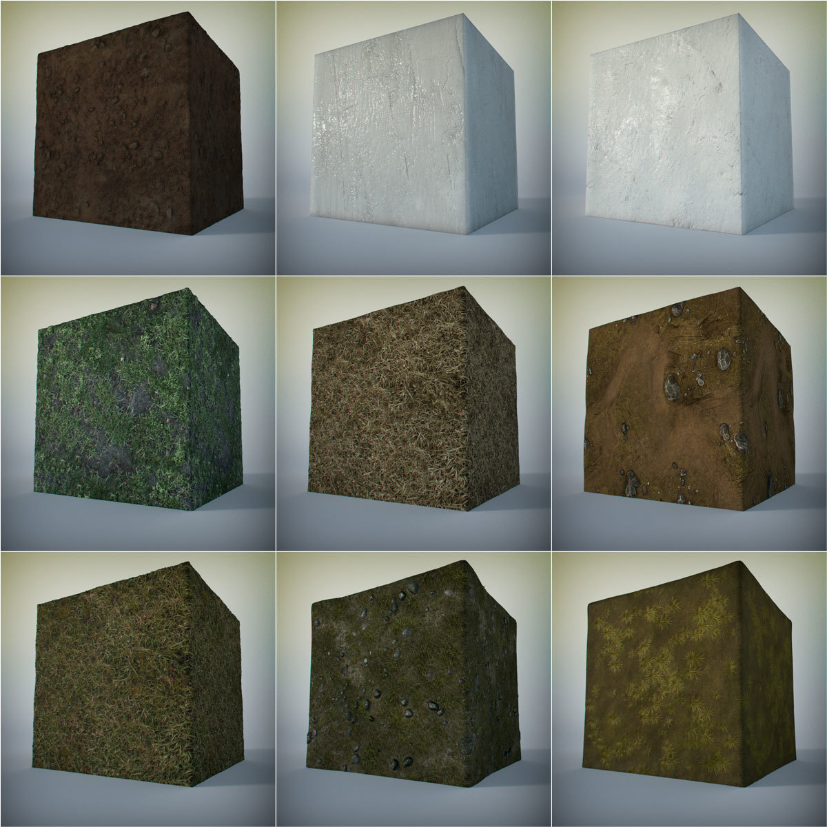 Ground and Foliage Shader & Texture Pack