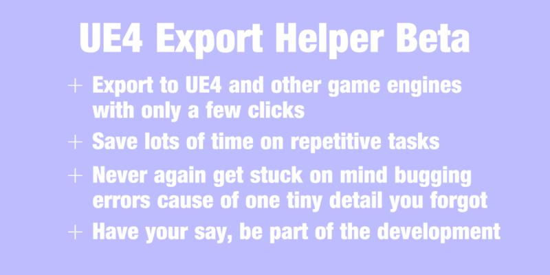 UE4 Export Helper