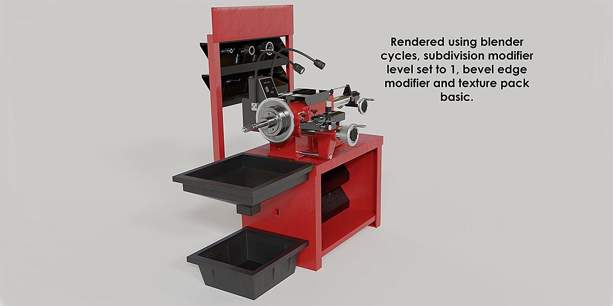 Workshop-disk lathe