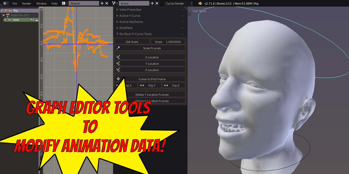 Re-Face! - Facial Motion Capture Retargeting Tools v1 2 1