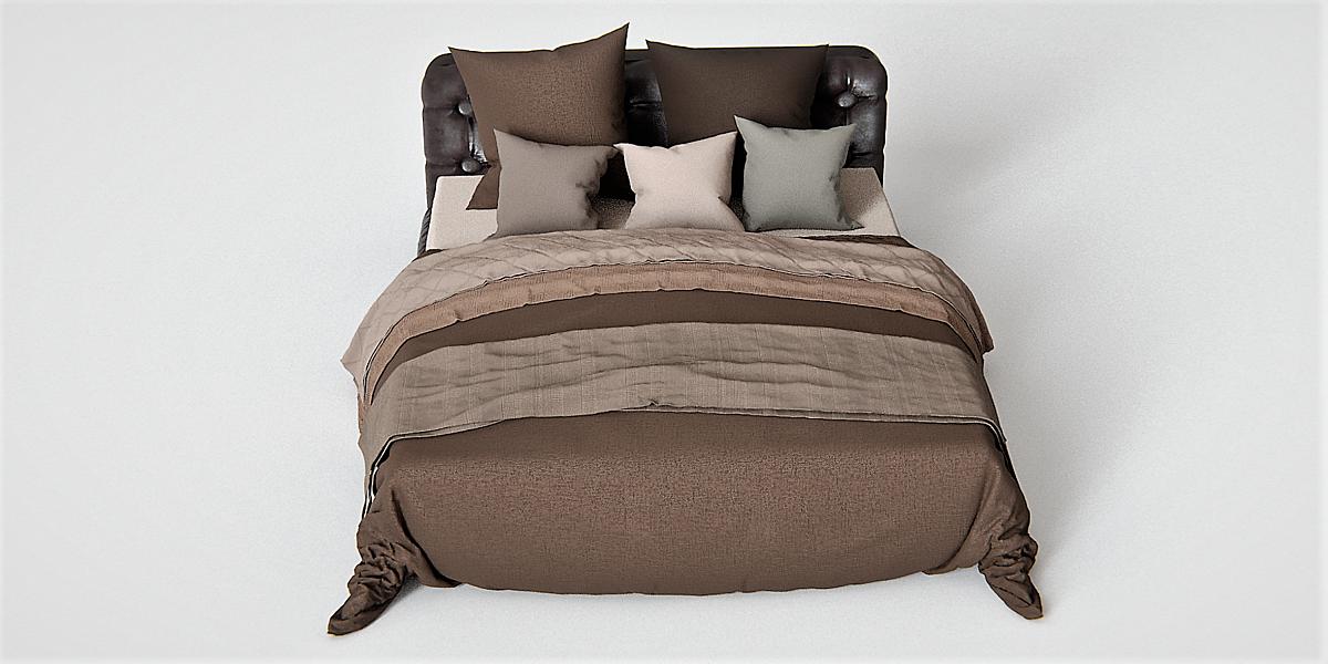 Leter Bed 3D-Model - Blender Market